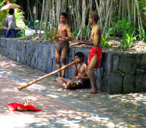 Buskers in Kuranda Village