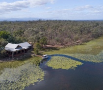 Wonderful Mareeba Wetlands enjoying a cruise