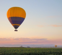 The Atherton Tablelands provide the perfect conditions for hot air ballooning
