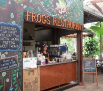 Frogs restaurant Kuranda