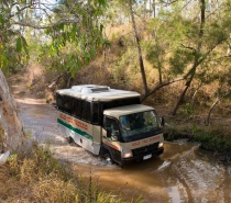 Creek Crossing on the Chillagoe Caves and Outback Tour.