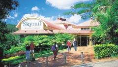 Skyrail up 9:00am + Train down 3:30pm | 5 hours in Kuranda
