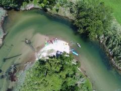 Double Kayak Hire HALF Day