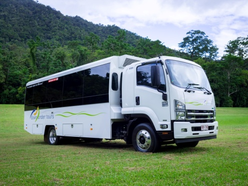 Daintree tour bus