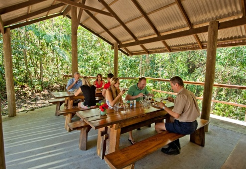 Tropical Lunch in the Daintree