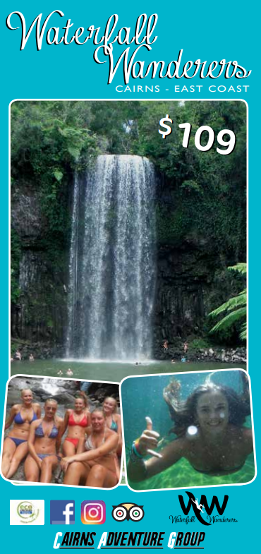 Waterfalls + rainforest adventures - $109