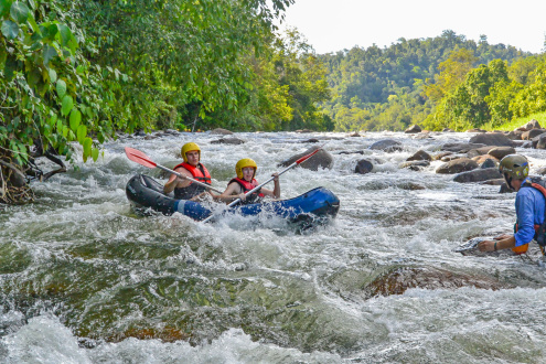 Tully River Rafting Your Day at a glance