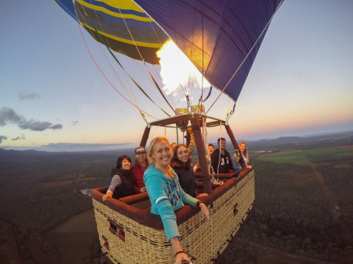 Hot Air Ballooning Cairns Pickup times