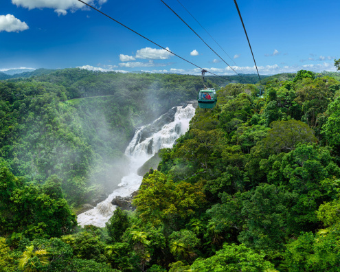 Cairns Reef Flight, Skyrail & Kuranda Scenic Rail Combo