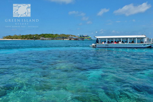 Green Island Glass Bottom Boat Tour