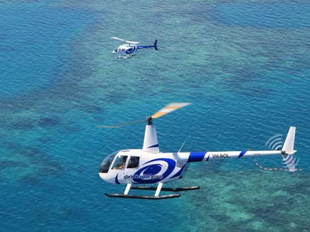 Cairns Scenic Flights Reef Discovery
