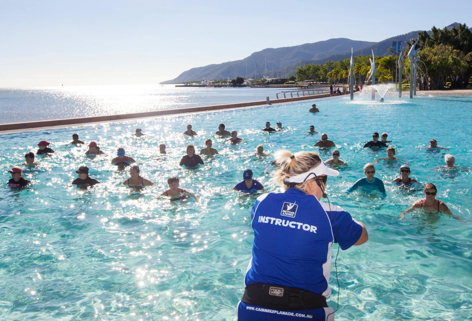 cairns events event details free active living aqua