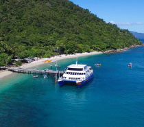 Fitzroy Island is just a 45 minute cruise from Cairns