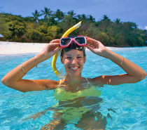Snorkelling gear is included with all Day Trips to Green Island.
